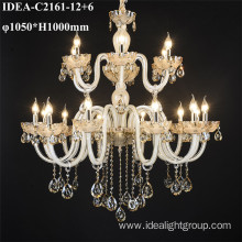 modern light fixture candle chandelier large size